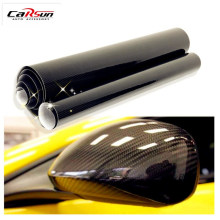 High Glossy Vinyl Film Auto Wrapping 5D Carbon Fiber Film 50*200cm Film Car Sticker with Air Free Bubble