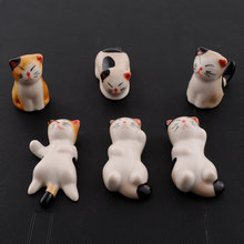 Set Of Japanese Ceramic Lucky Cat Shaped Rest Fork Holders Cutlery Stand holder New ceramic cat