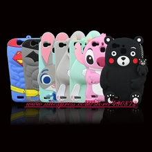 Fashion 3D Soft Silicon Stitch Rabbit Bunny Batman Cat Cartoon Cell Phone Back Skin Cover Case for Huawei G8 mini Enjoy 5S GR3