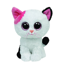 "Ty Beanie Boos 6"" 15cm Muffin the Cat Beanie Babies Plush Stuffed Collectible Soft Big Eyes Plush Doll Toy"