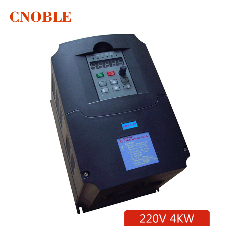 220v 4kw frequeny inverter 1 phase input and 220v 3 phase output frequency converter/ ac motor drive/ ac drive/ VSD/ VFD/ 50HZ<br><br>Aliexpress