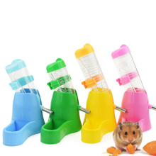 Small Pet Automatic Water Dispenser Feeder Bowl Chinchilla Guinea Drinking Fountains Food Dish Pet Bowl for Rabbit Hamster(China)
