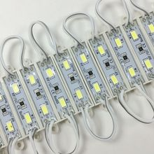 100pcs DC12V 5730 2 LED Modules IP66 Waterproof Led Backlight for Advertising Brighter than 2835 5050 3528 Mini led module(China)