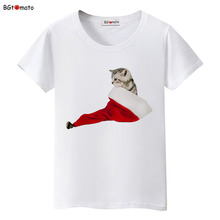 BGtomato Cute design pet cat T-shirts Original Brand New clothes lovely cat casual shirts women tops tees cheap sale