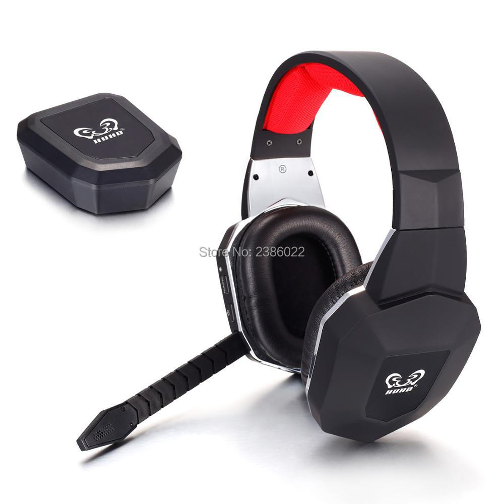 HUHD 2.4GHz Wireless Bluetooth Gaming Headset for Xbox 360 PS4 PS3 PC Noise Cancelling Detachable Microphone Headphone Earphone<br><br>Aliexpress