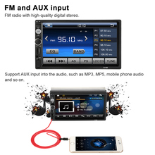 2 Din Car Audio 7'' Universal Car Autoradio MP5 Player Bluetooth HD Touch Screen Video Entertainment USB/TF FM Aux Input(China)