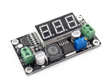 LM2596 XH-M136 adjustable voltage reduction module DC power supply digital green display DC-DC wide voltage(China)