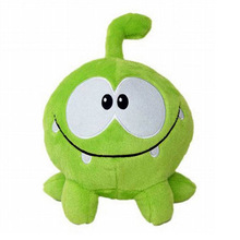 Cute Frog Candy Monster Plush Toy Cut The Rope Soft Rubber Classic Toys Game Kawaii Stuffed Animals Gift For Children brinquedos