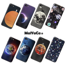 MaiYaCa Top Detailed Popular Art Stars Moon Planet Space phone case accessories cover For iPhone 7 Case(China)