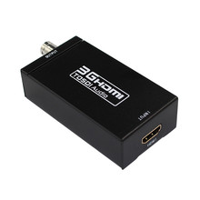 HDMI TO SDI Converter 3G Full HD 1080P HDMI to SDI Adapter Video Converter with Power Adapter for Driving HDMI Monitors
