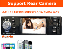12V 3 inch Car MP5 Player Car Radio Receiver SD/MMC/USB/FM Stereo In Dash Head Unit For iPhone Samsung Rear Camera Aux-in(China)