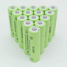 12XAA battery New Original 600mAh 1.2V NiMH Rechargeable Battery Free shipping