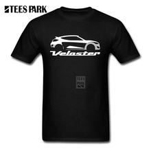 Movie T Shirts Veloster Car Logo Men 100% Cotton Short Sleeve Shirts Customized Men Awesome T Shirt Designs