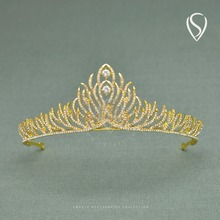 CLEARANCE SALE Sparkly Rhinestone Tiaras and Crowns Crystal Bridal Headpieces Women Head Jewelry for Birthday Party Wedding Prom(China)