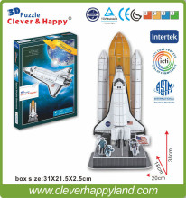 Discovery Space Shuttle 3D Mold jigsaw puzzle manufacturer(China)