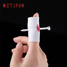 HOT Halloween creative spoof Funny trick toy props finger wear nail Levert Dropship Oct 08