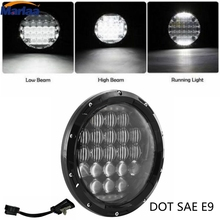 "7"" Round Headlight Led For Jeep Wrangler 97-157"" LED Harley Motorcycle Headlamp For Hummer Toyota Defender"