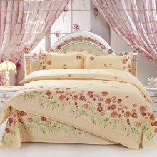2016 New design Reactive Print 3/4Pcs bedding sets/bedclothes/bed set/Duvet Cover Flat sheet Pillowcase, Queen Full Twin size