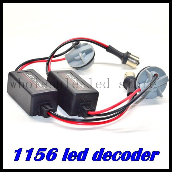 1 pcs/lot 1156 BA15S canbus LED Light Error Free Load Resistor Auto Accessries Warning balast Canceller Decoder parking<br><br>Aliexpress