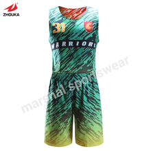 cheap full sublimation OEM team jerseys basketball reversible basketball vest cheap custom uniforms