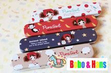 New cute girl & animals style Tin Pencil case / Pen box / Fashion / Wholesale(China)