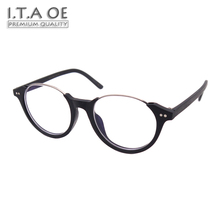 ITAOE Model Eddie Quality Wood-like Acetate Men Optical Prescription Glasses Eyewear Frames Spectacles 140mm(China)