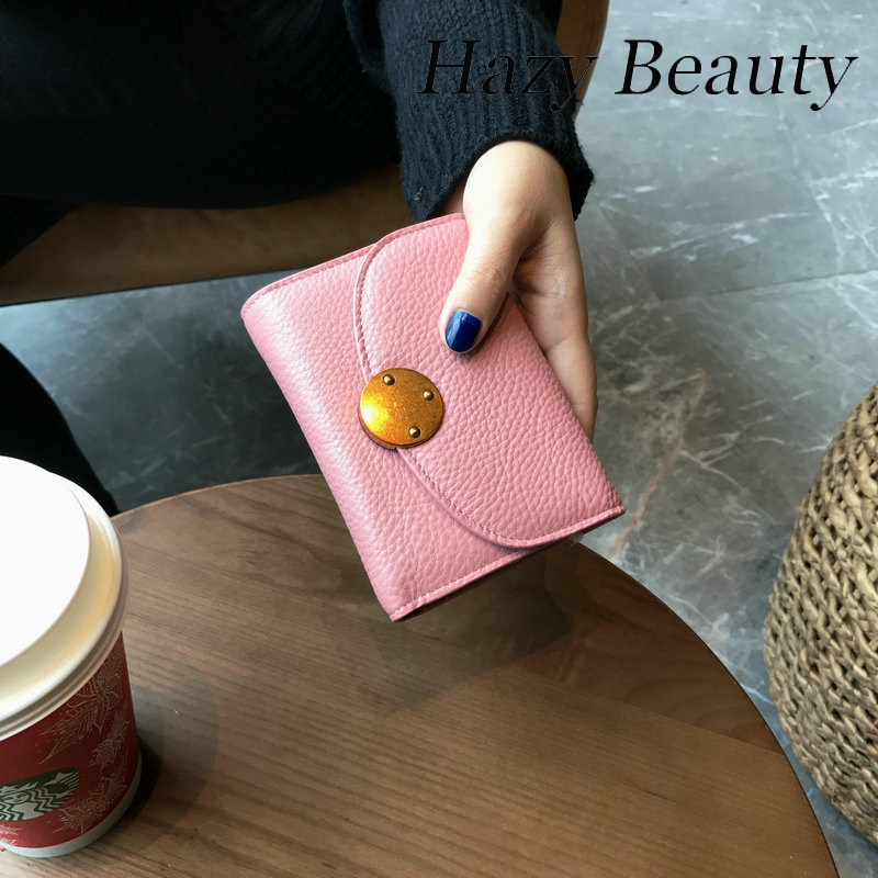 Hazy beauty New genuine leather women mini wallets super chic madam love money purse high quality girls coin purse DH522<br><br>Aliexpress