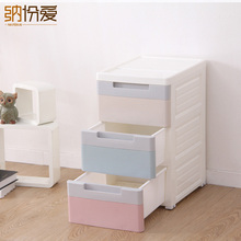 Organizador Organizer 2017 Storage Plastic Box Home Office,drawer Dividers Makeup Cabinets Of Three Layer Boxes & Bins Style
