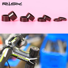 Buy RISK Carbon Fiber Washer Bike Stem Spacers 3k Carbon Cycling Bicycle Headset Washer 28.6mm Fork 3mm 5mm 10mm 15mm 20mm for $1.99 in AliExpress store