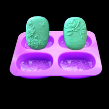Silicone mold Butterfly Flower Handmade natural soap shaped cake pastry kitchen Maker Moldes De Silicona Para Fondant Stencil