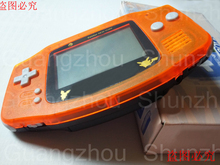 New Arrival Whole Game Console for Nintendo GBA for AGB-001 Console 2Colors Clear oranger and black