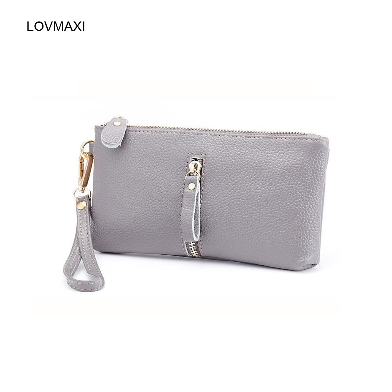 Fashion women wallets genuine leather purses causal coin purse clutches<br><br>Aliexpress