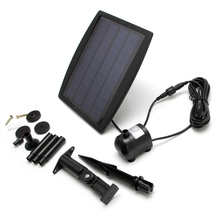 9V 2.5W Solar Power Panel Water Pump For Landscape Pool Garden Fountains Decorative Garden Decor Submersible(China)