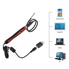 480P 6 LED Endoscope Borescope Android Phone/Laptop USB Video Digital Mini Inspection Camera 5.5mm Lens Waterproof Endoscope