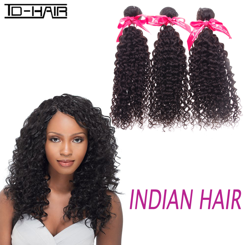 Top 8A Indian Virgin Hair kinky curly Remy Hair bundles Indian hair kinky curly weaving 100% Unprocessed TD HAIR weave product<br><br>Aliexpress