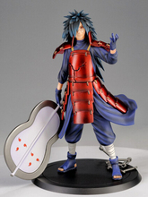Manufacturer 24pcs Japana anime Naruto Uchiha Madara action pvc figure toy tall 23cm in box via EMS.