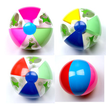 Color Inflatable Beach Toy Ball Drink Float Water Swimming Child's Play Mouth Educational for Children Baby Bath Toys