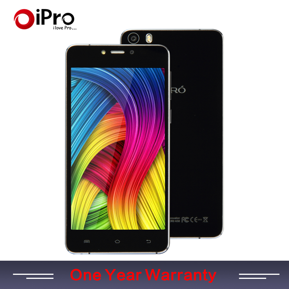 IPRO Acro A58 Original Android 5.0 Smartphone Luxury 5.85mm ULTRA-THIN Quad Core 5.0 inch MTK6582 Dual SIM 2GB+16GB Mobile Phone(China (Mainland))
