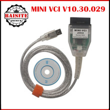 MINI VCI V10.30.029 Diagnostic Interface Cable For TOYOTA TIS Techstream J2534 OBD2 obd ii obdii obd 2 diagnostic scanner tools
