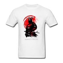 Hombre Short Sleeved Tee Shirts Samurai Warrior Tee Tops Clothing For Mens O-Neck Lowest Price Custom Shirts