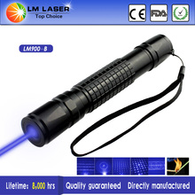 The Most Power 1000mW Blue Laser Pointer Adjustable with Charger+Packing Box Glasses and laser caps+batteries