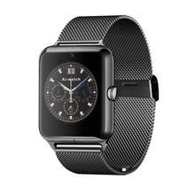 2017 Newest fashion Bluetooth Smart Watch Z50 with heart rate SIM card TF mp3 mp4 compatible with apple and Android Phones(China)