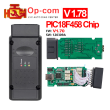 OPCOM V1.70 / V1.78 Firmware OP-Com with PIC18f458 FTDI FT232RL chip V2012 for Opel OP COM Car Diagnostic Scan tool code reader(China)