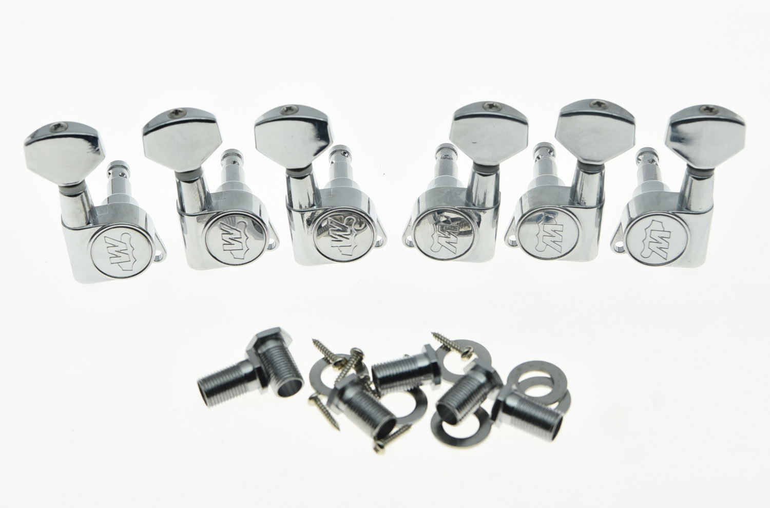 Quality Chrome 3L3R Wilkinson E-Z LOK Post Guitar Tuners Tuning Keys Pegs Machine Heads<br>