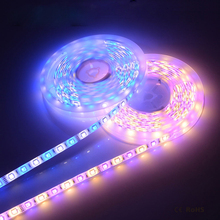 5M RGBW / RGBWW 5050 LED strip Light IP20 / IP65 DC12V SMD 60Leds/M LED Flexible Bar Light strip RGB + White/Warm White light
