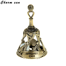 White stone.Bells. charms.White bell.Vintage home decoration. exlusive souvenirs.metal gifts crafts for long life