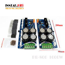 Assembled 1 pair PR-800 Class A / Class AB Professional stage power amplifier board  1000W , Free Shipping