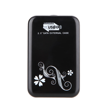 Portable tool 2.5 inch SATA HD HDD to USB 3.0 /2.0 External Hard Drive Enclosure/Case/Cad for computer data transfers/ backup(China)