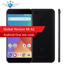 Xiaomi Mi A1 MiA1 32GB Global Version 4GB RAM Android One 5.5'' 1080P Snapdragon 625 Octa Core Smartphone Dual 12MP Android 7.1(China)