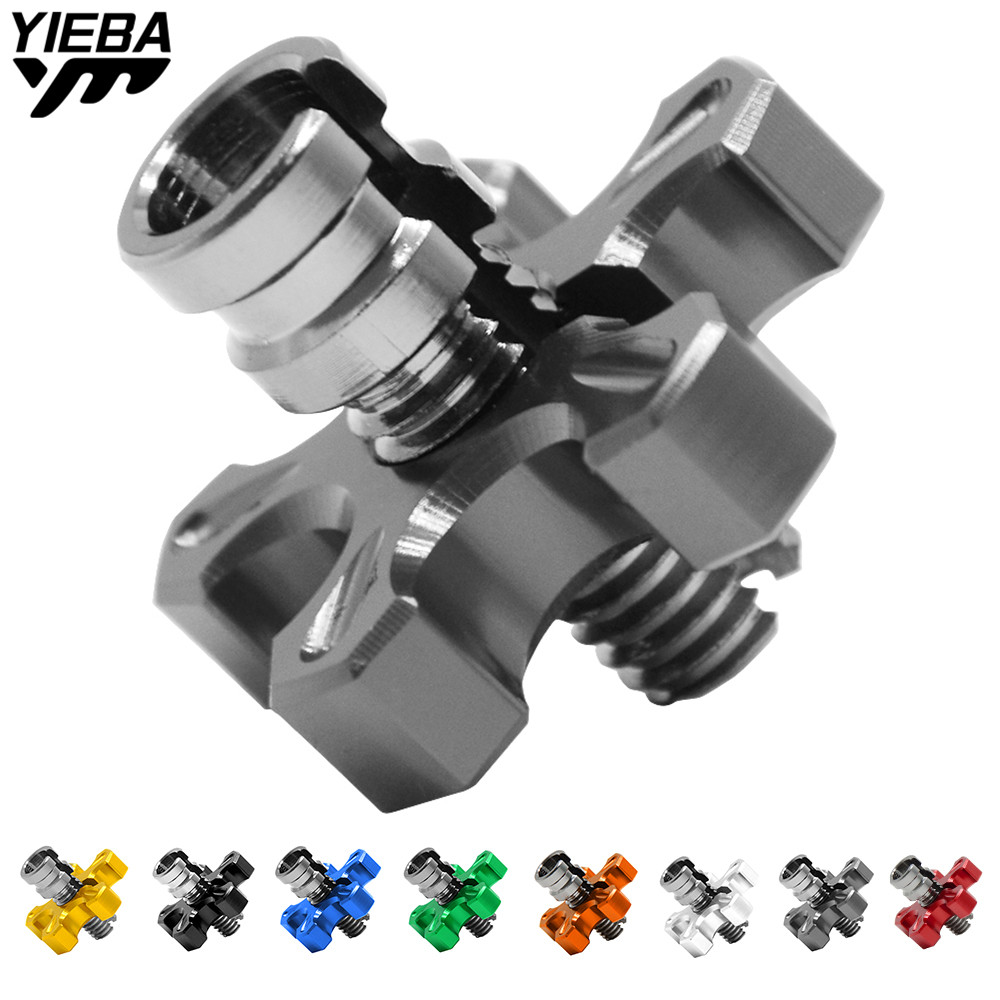 for BMW C650GT C650 C600Sport S1000R ducati 749 848 999 diavel Motorcycle CNC Billet Clutch Cable Wire Adjuster Screw M10*1.25